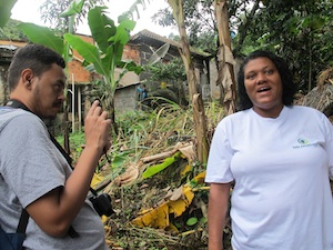 Filming for Favela as a Sustainable Model