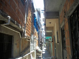 The narrow streets of Uga-Uga