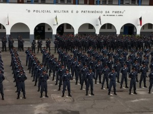 """The Military Police is the Patrimony of the Rio de Janeiro State Military Police"""
