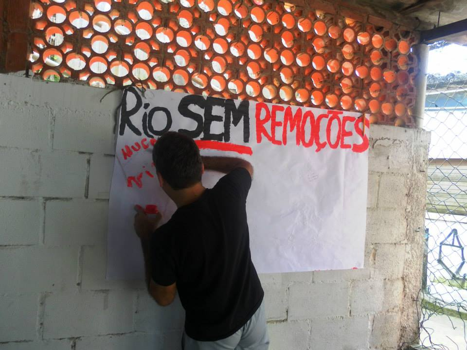 """""""Rio without evictions"""""""