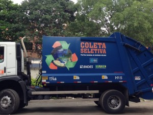 Sorted Waste Pick Up Garbage Truck Iraja Photo Credit Ramya Ahuja