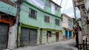 Police bullet-riddled homes in Alemão - Photo by Bruno Itan - reproduced on Facebook Ocupa Alemão