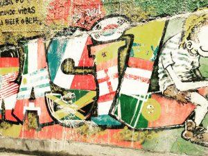 BRASIL graffiti (Photo by Phie van Rompu)