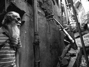 José Martins fights for proper sanitation in Rocinha. Photo by AP Photo/Silvia Izquierdo