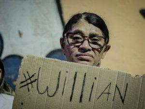 Willian's mother. Photo by Ian de Farias
