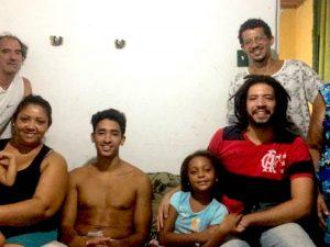 The Alves family, longtime residents of Chácara do Algodão in Horto