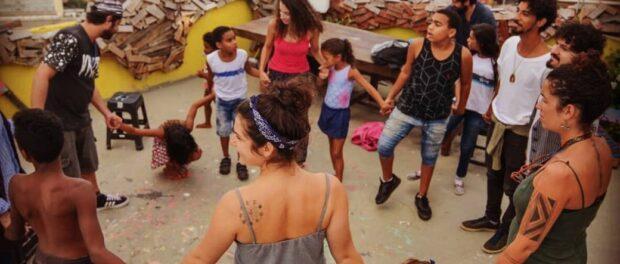 At Casa Amarela. Photo: Entre o Céu e a Favela Instagram