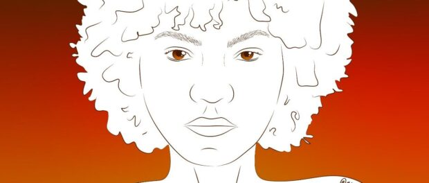 Illustration of a black woman by Anna Paula Rodrigues @annapapr