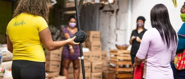 Project supports women entrepeneurs from Rio's West Zone during the pandemic. Photo: Ana Lemos