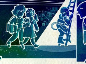 Morro do Sereno original illustration