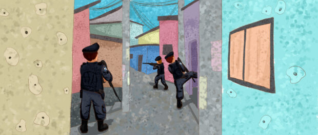 Sixth Annual Black July: ADPF das Favelas original art
