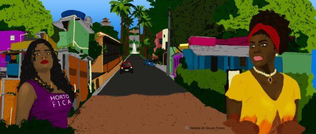 Horto Article. Original Art by Natalia S. Flores