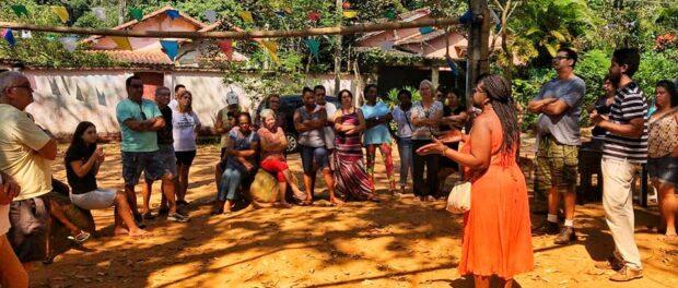 Horto: Residents' meeting at Largo das Pedras